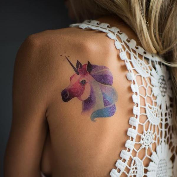 55 Photos Of Enchanting Unicorn Tattoo Artwork